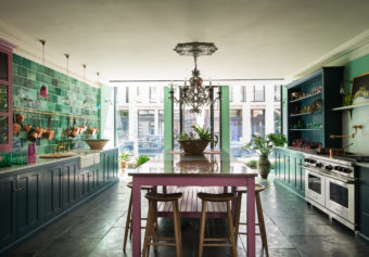 Our Bond Street showroom in NoHo, NYC – the Classic English Kitchen