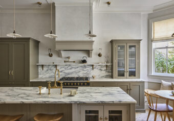 Designing a deVOL Kitchen for a New Jersey Brownstone