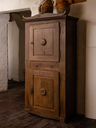 East German 1860's Food Cupboard