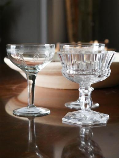Vintage Wine Glasses