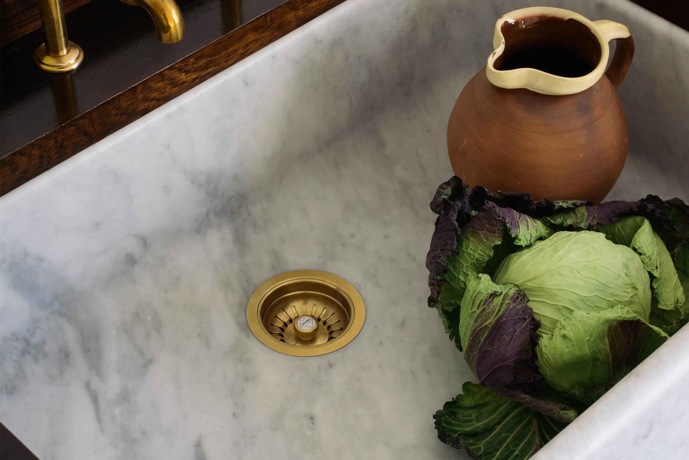 Tuscan Farmhouse 31 1/2'' Single Marble Sink photo 2