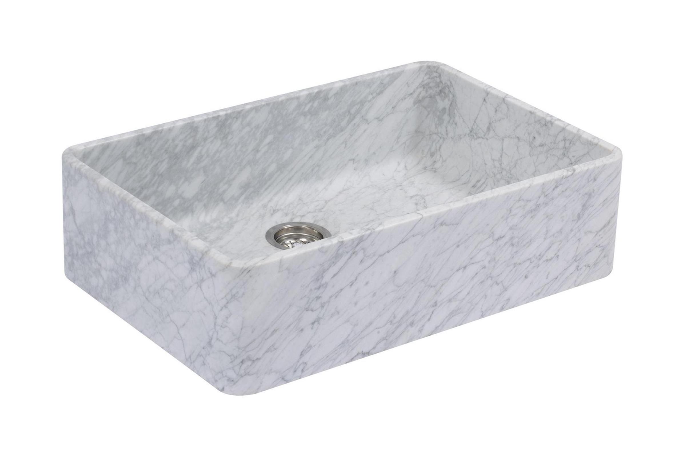Milano Penthouse 31 1/2'' Single Marble Sink photo 1