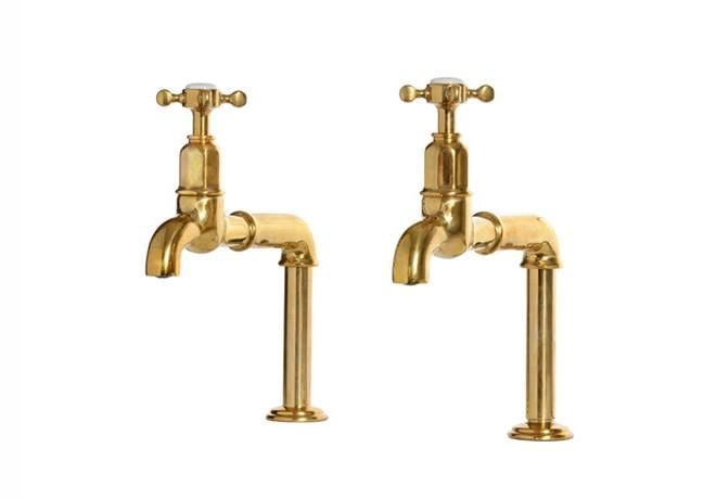 deVOL Aged Brass 'Mayan' Taps photo 1