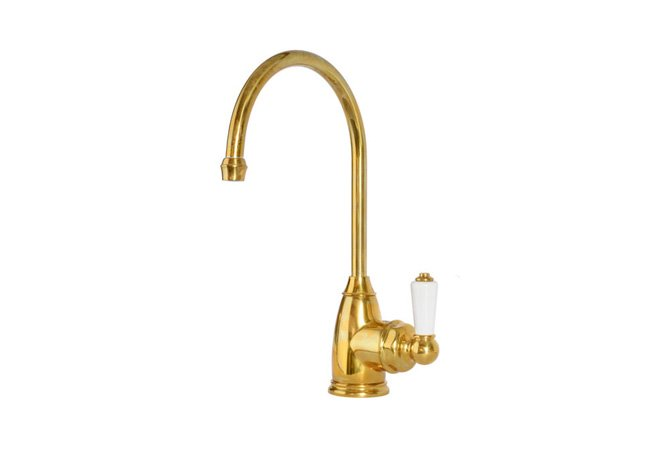 deVOL Aged Brass 'Parthian' Mini Instant Hot Tap (with Heating System) photo 1