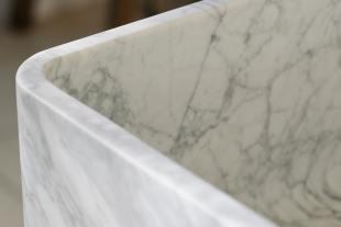 Milano Penthouse 31 1/2'' Single Marble Sink photo 5 thumbnail