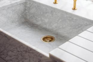 Milano Penthouse 31 1/2'' Single Marble Sink photo 6 thumbnail