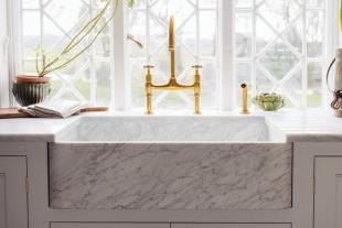 Milano Penthouse 31 1/2'' Single Marble Sink photo 7 thumbnail