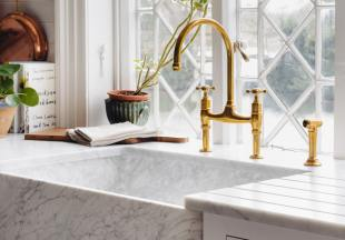 deVOL Aged Brass 'Ionian' Tap photo 5 thumbnail