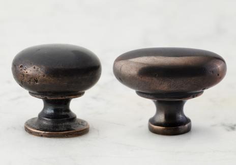 Oxidised Bronze Knobs