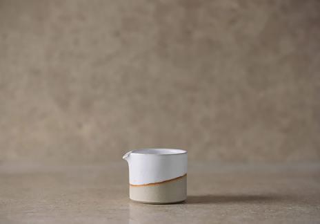 White Milk Pourer