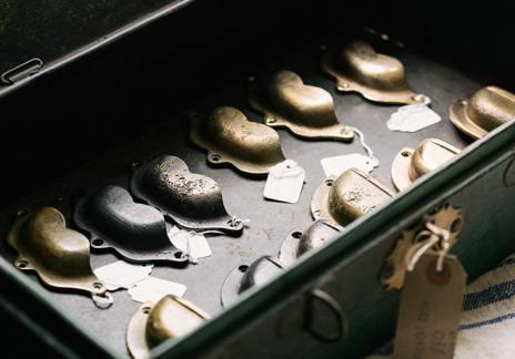devol handcrafted cup handles