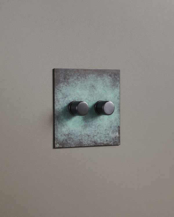 Verdigris Bronze Dimmer Switches