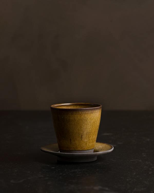 Amber Glaze Pottery