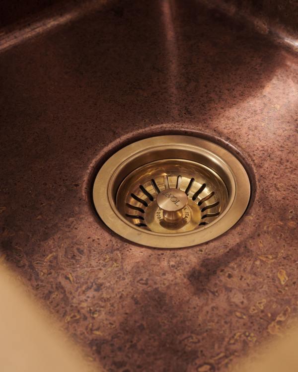 deVOL Aged Copper Single Sink