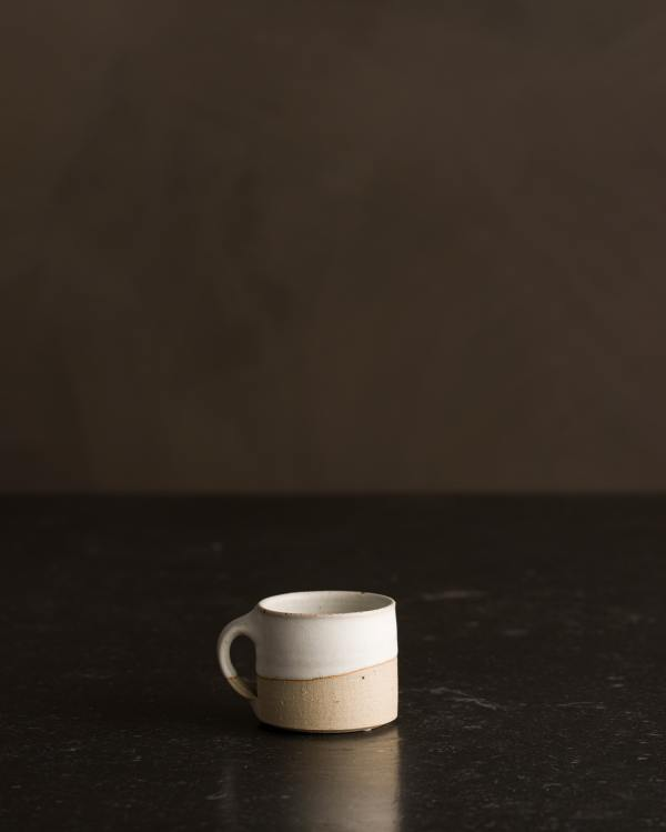 Natural White Espresso Mug