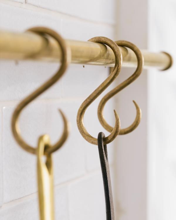 Brass S Hooks