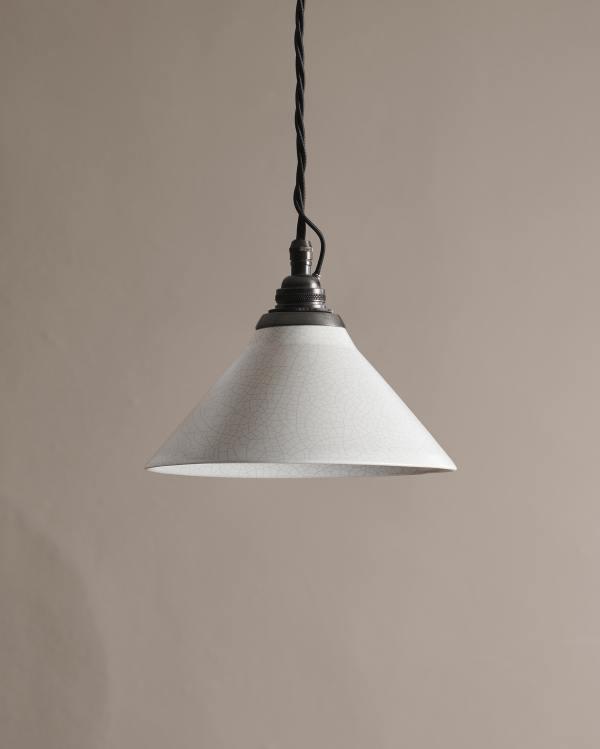 Small Crackle Pendant Light