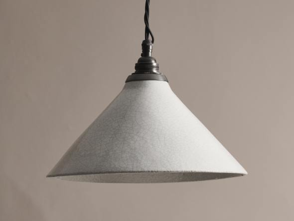 Large Crackle Pendant Light